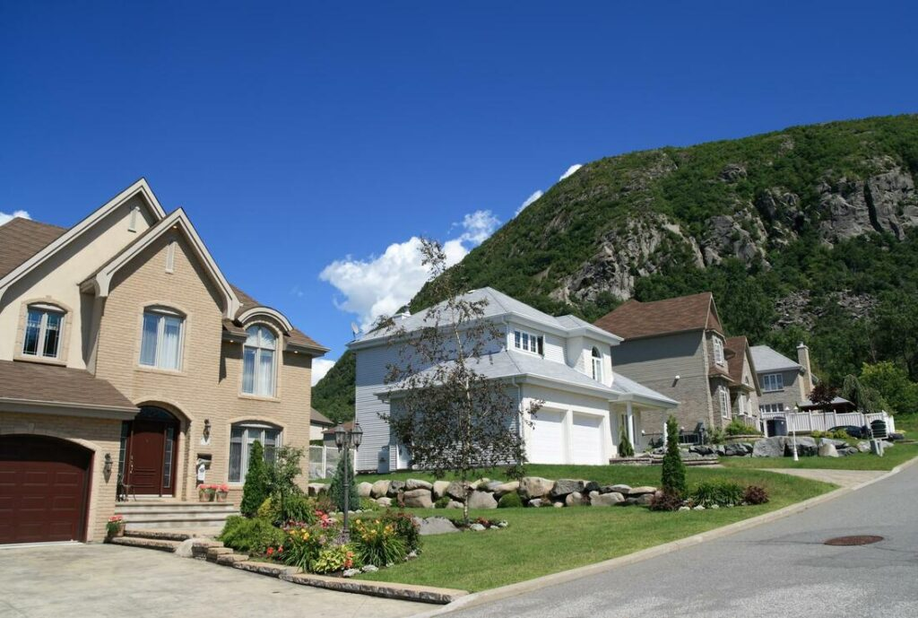 A beautiful residential area